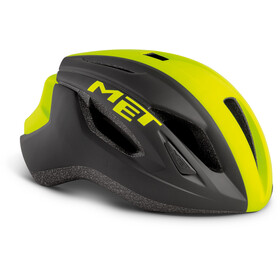 MET Strale Helm black/safety yellow panel